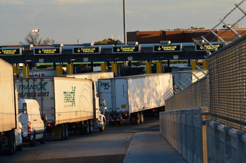 Photo of Detroit, busiest truck hub on northern U.S. border, last stop for freight futures roadshow