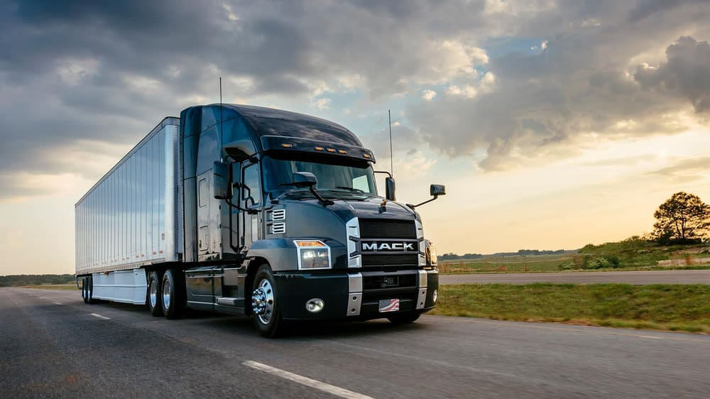 photo courtesy of mack trucks.