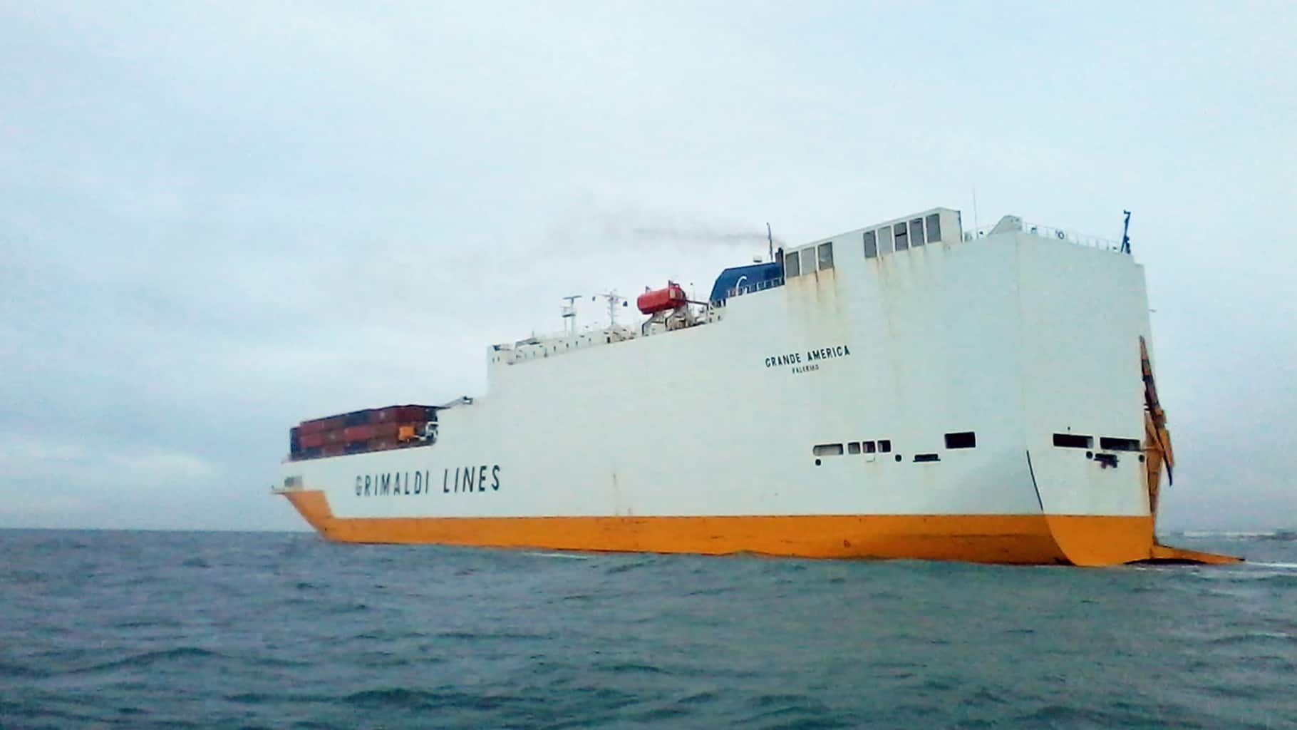 Photo of Grimaldi outlines Grande America cargo losses