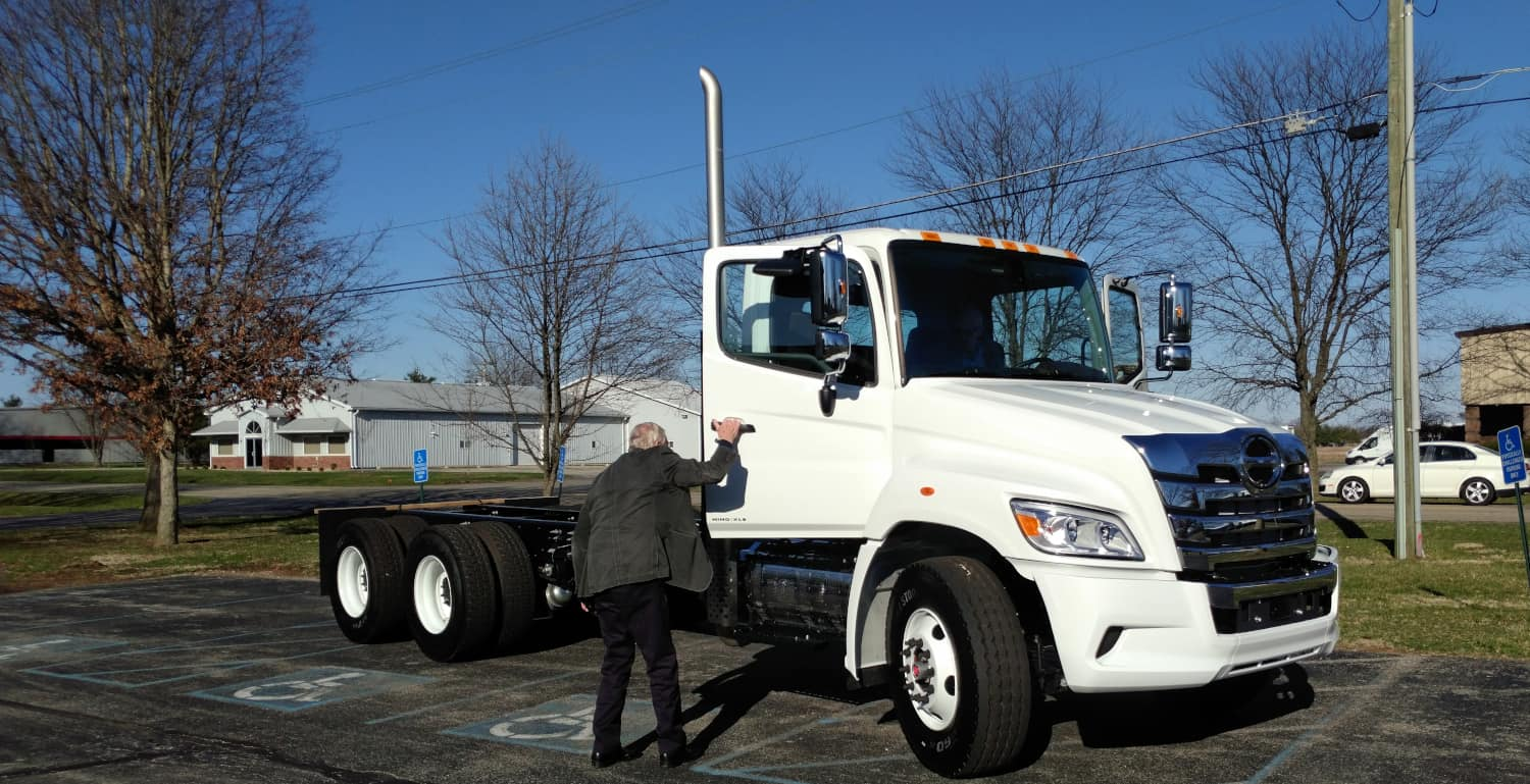 Photo of Hino strives for a piece of the Class 8 truck market