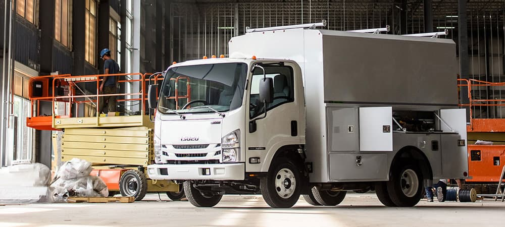 Isuzu's N-Series gas models will now have additional body options.
