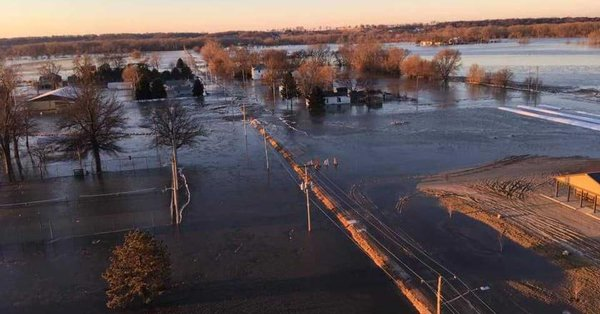 Photo of Midwest flooding continues to stall transportation