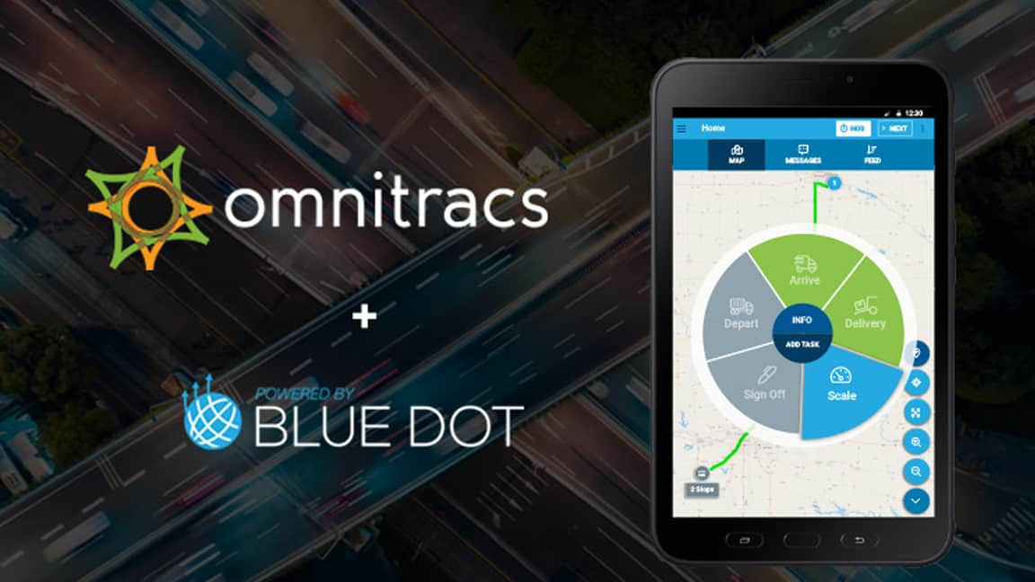 Photo of Omnitracs acquires Blue Dot Solutions to provide intuitive workflow experience for drivers and back office