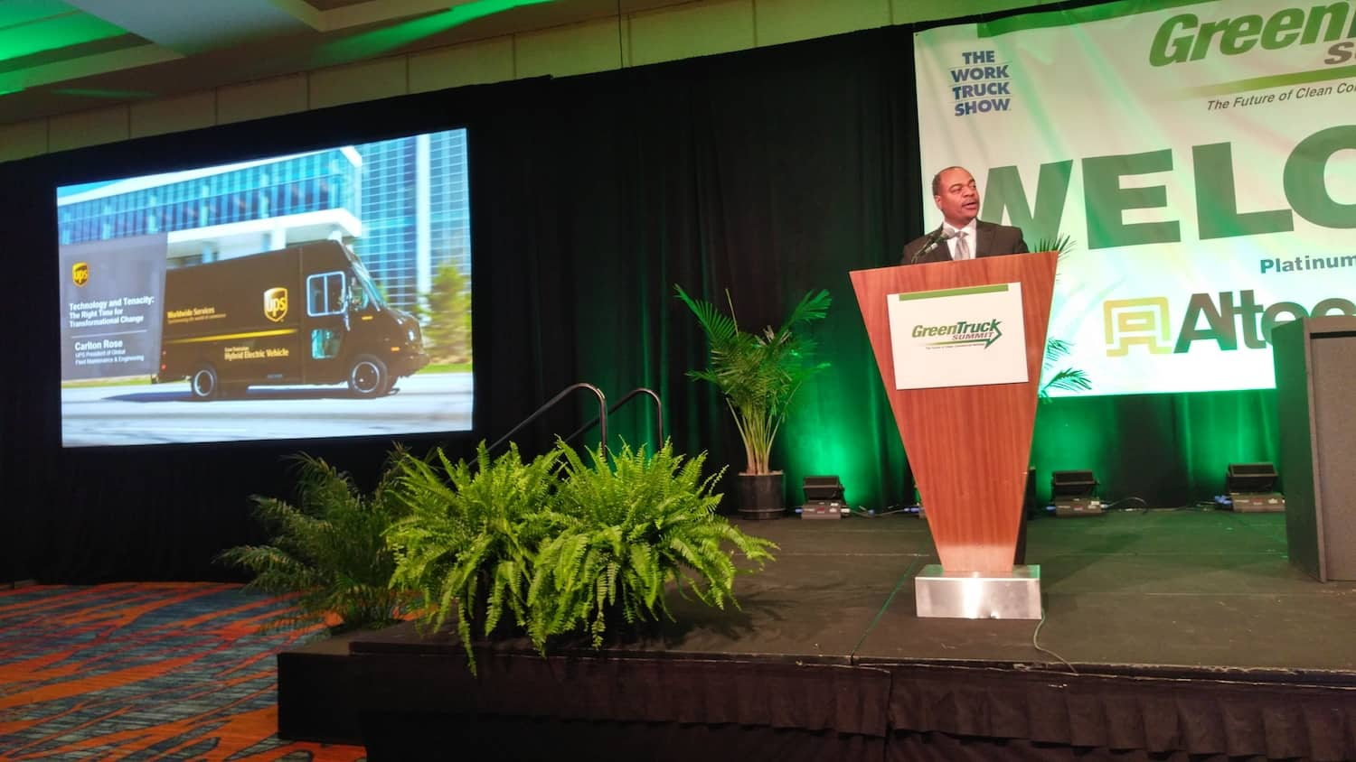 Photo of UPS's Carlton Rose: Electric is the future, but we are not there yet