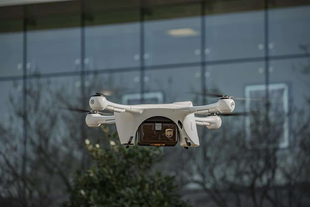 Photo of UPS and Matternet launch commercial drone deliveries on N.C. hospital campus