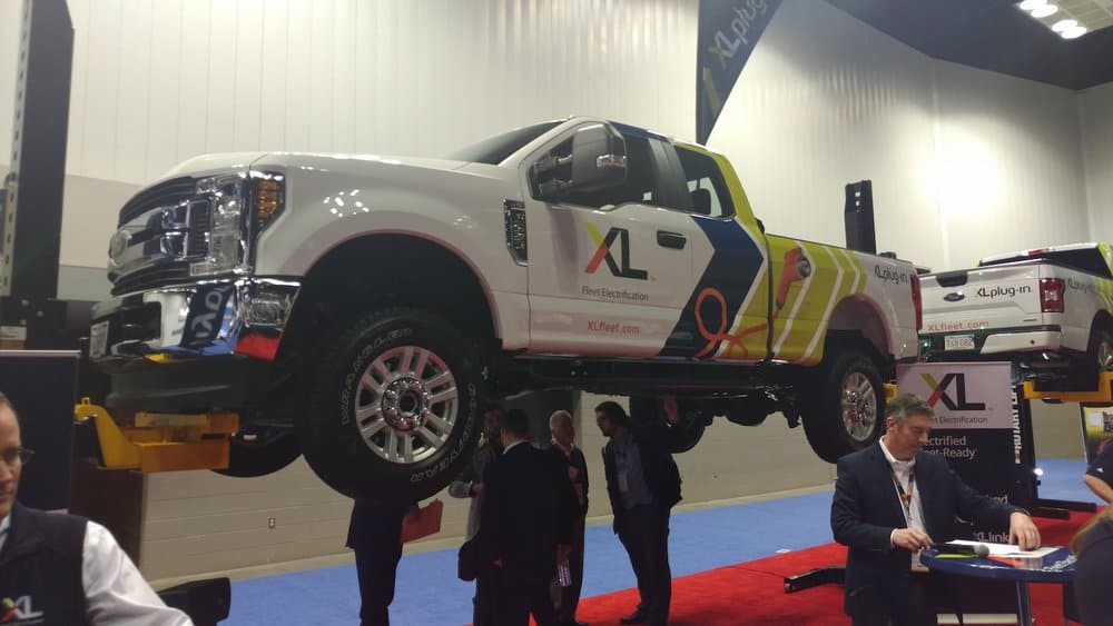 XL Hybrids is bringing to market a plug-in hybrid electric system for Ford F-250 Super Duty models.