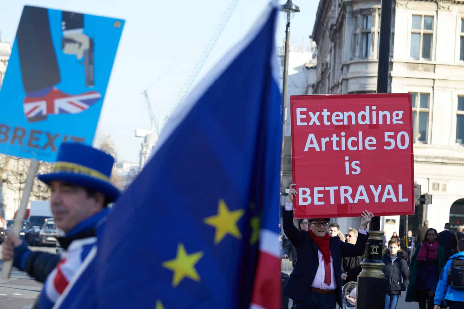Photo of Vote to extend Article 50 takes on greater significance