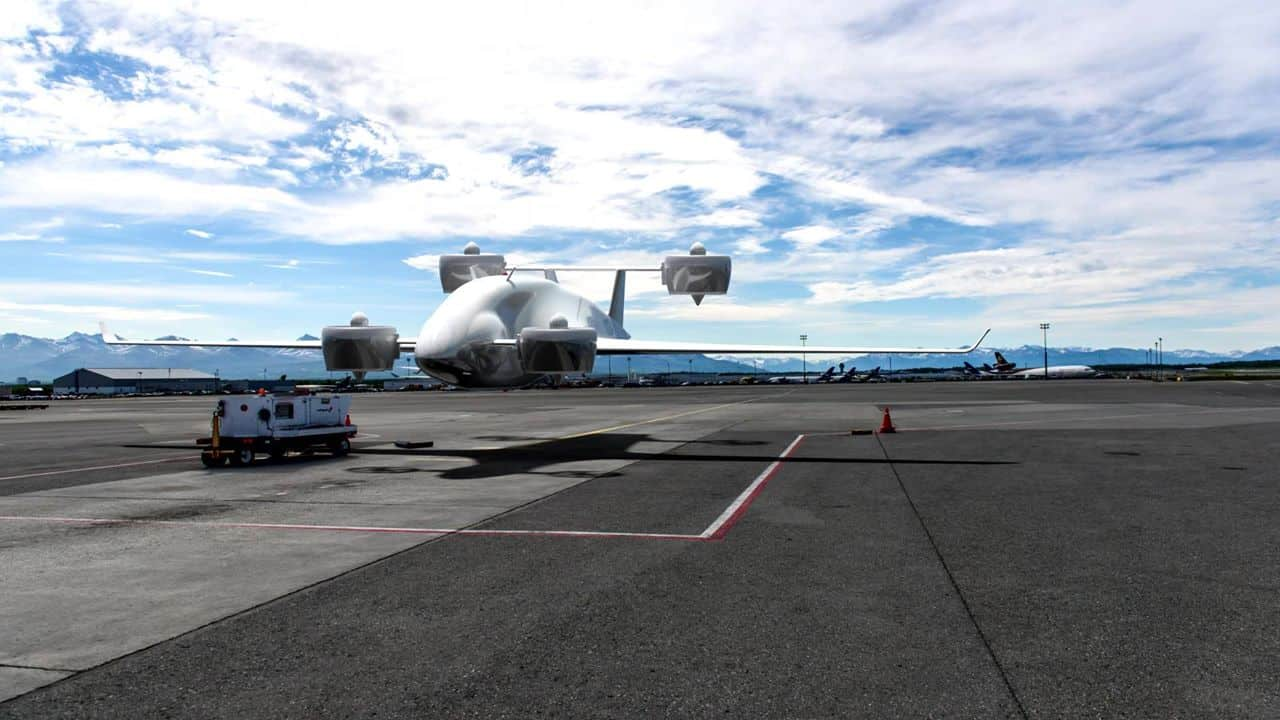 Photo of Sabrewing is making unmanned VTOL air cargo hauling a commercial reality