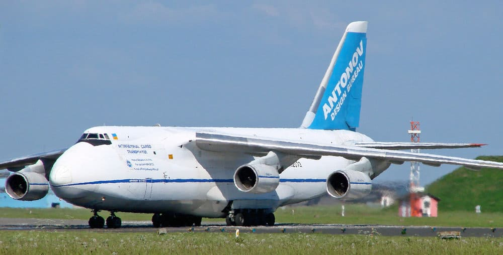 Antonov Airlines Antonov An-124-100. Photo courtesy of flickr/ Danner Møller Poulsen
