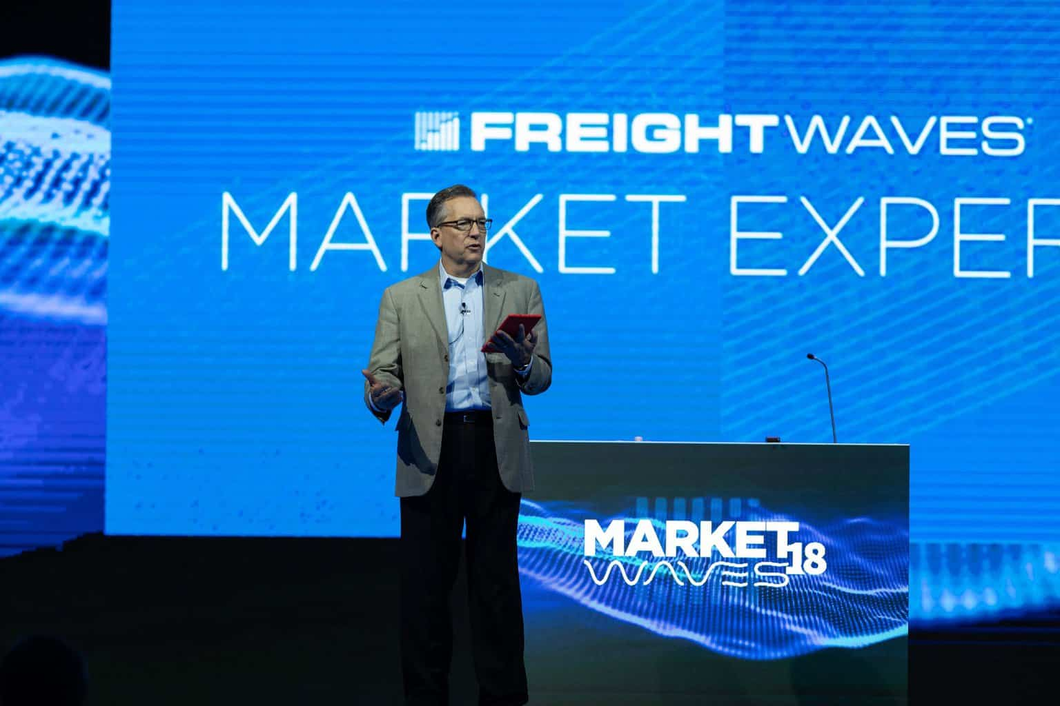 Photo of George Abernathy named FreightWaves' first president