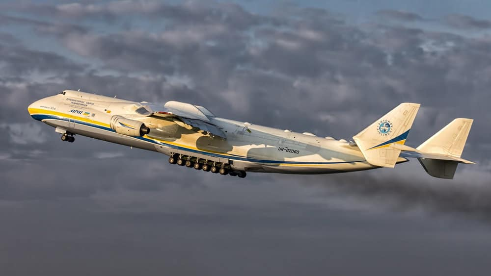 the One-of-a-Kind 6-Engine Antonov AN-225. photo courtesy of: Flickr/Panvil Vanka