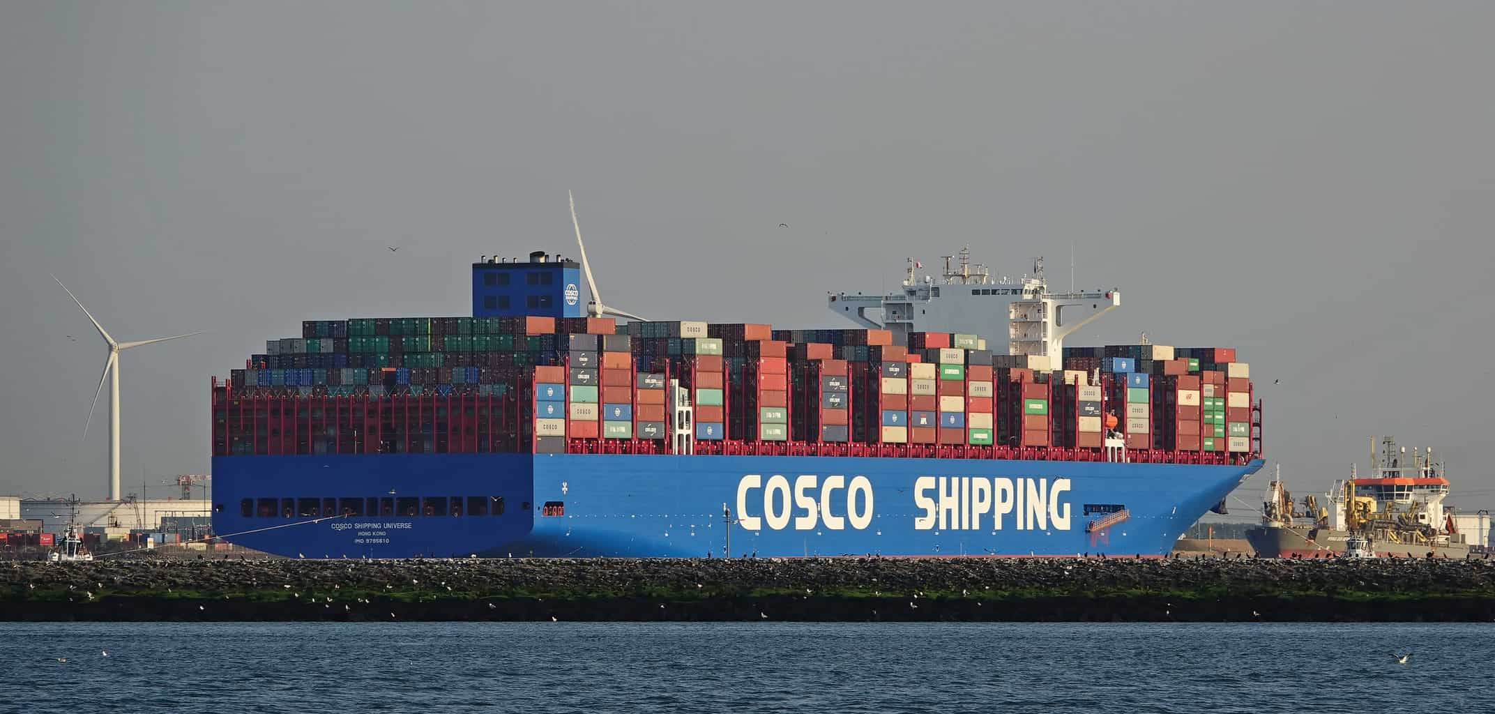 Photo of Cosco Shipping Holdings first quarter results get boost from Orient Overseas acquistion
