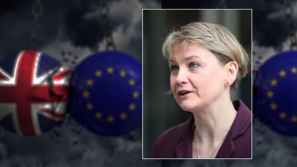 Yvette Coopers legislation could put a spanner in the Brexit works if Lords approve the bill, forcing the Government into a longer extension and to hold European elections. Credit:  Twocoms