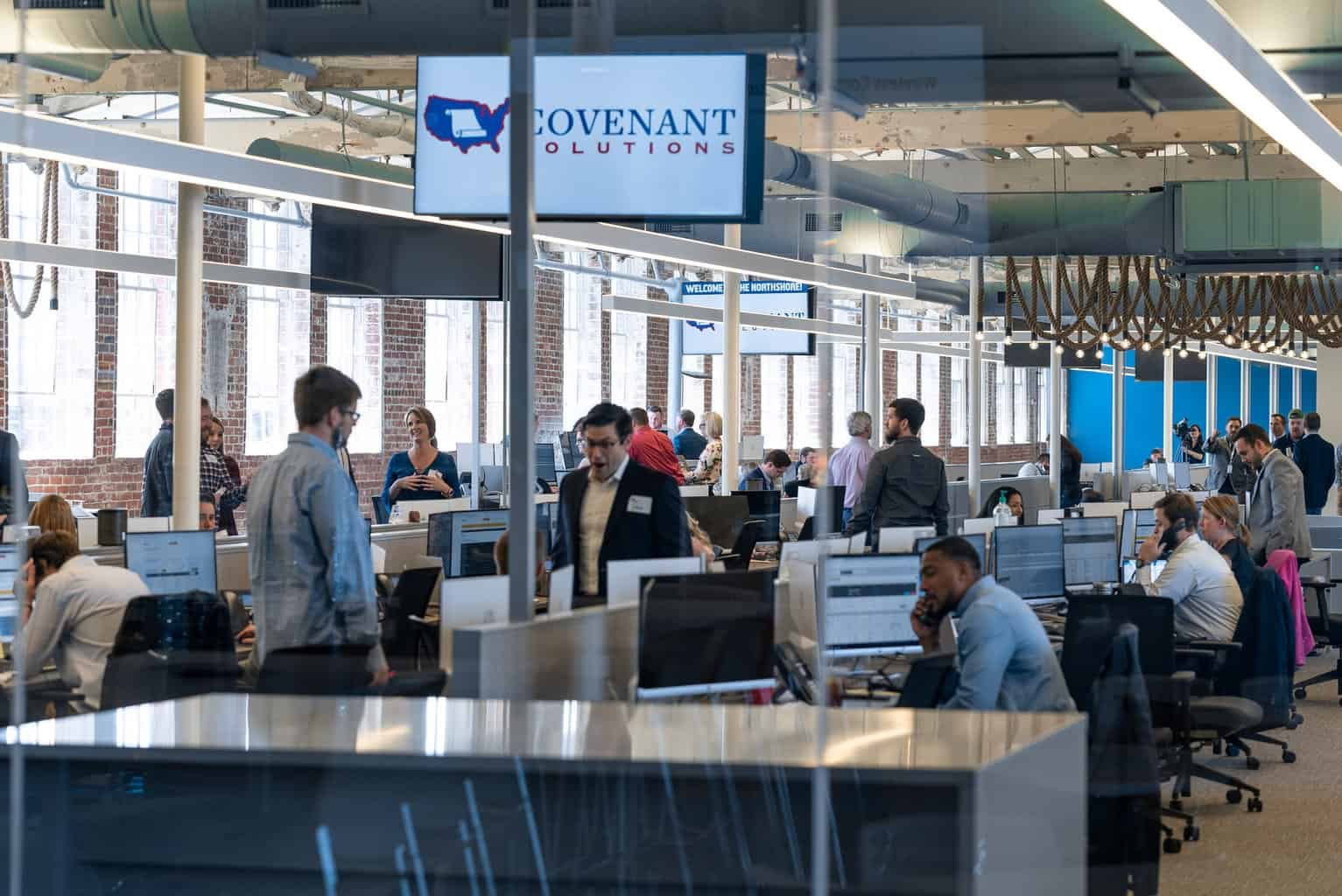 Photo of Covenant Transport Solutions officially opens new brokerage floor