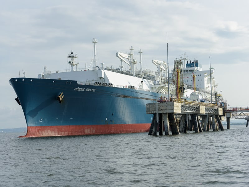 Photo of EPIK appointment for floating LNG terminal at Newcastle