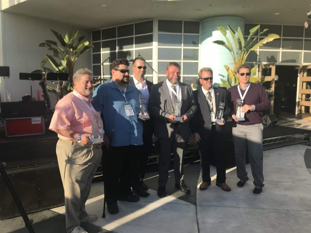 ACTExpo2019 Fleet Award winners ( Image: Linda Baker )