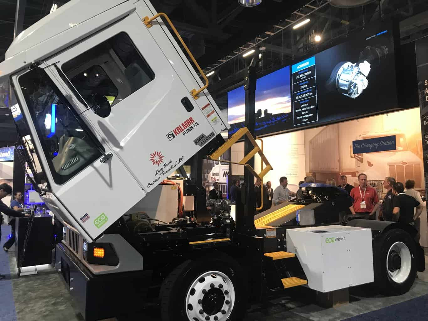 Photo of Meritor to electrify Port of Long Beach tractors