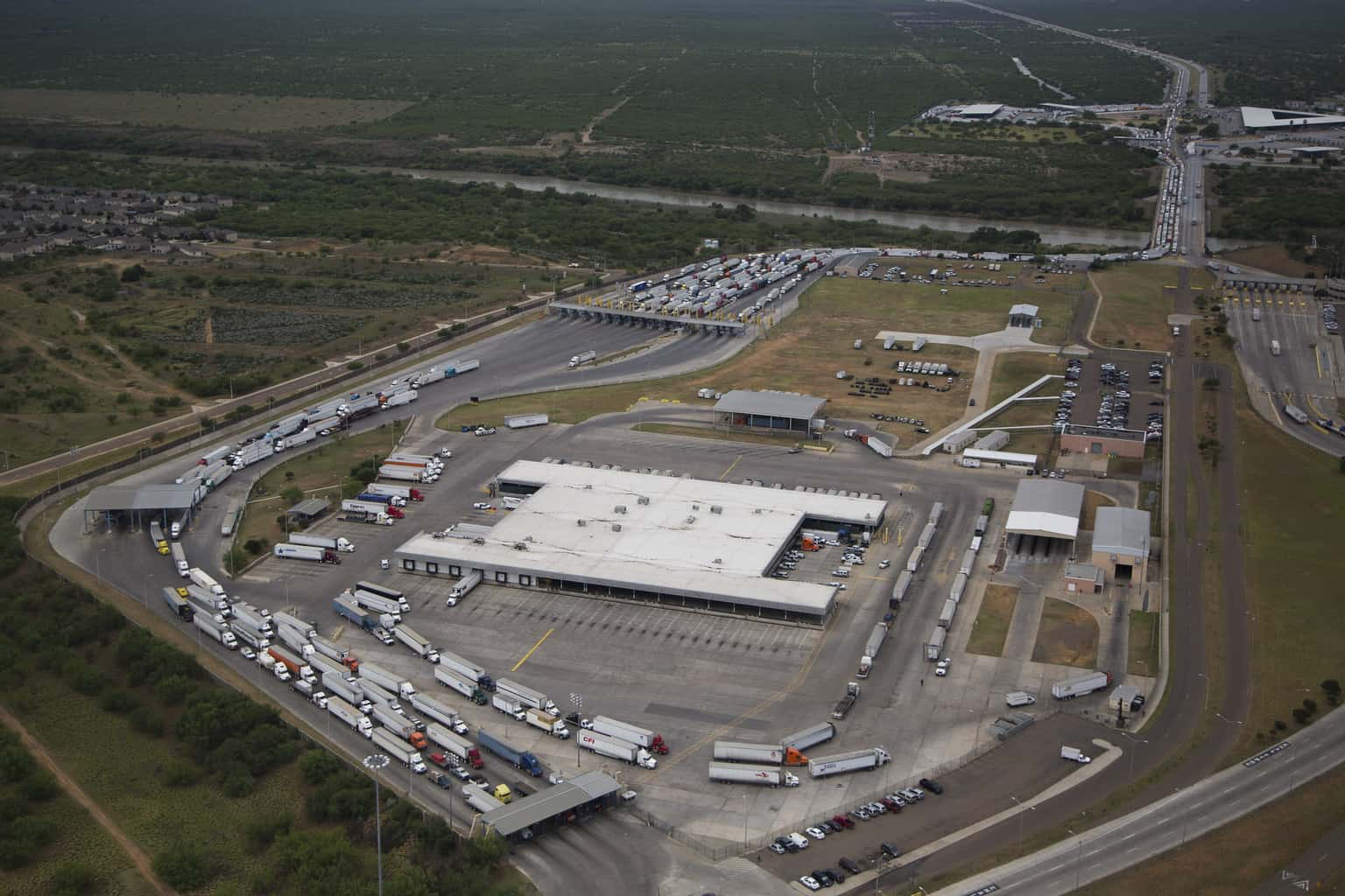 Photo of Delays build at U.S.-Mexico Border after CBP redeployment