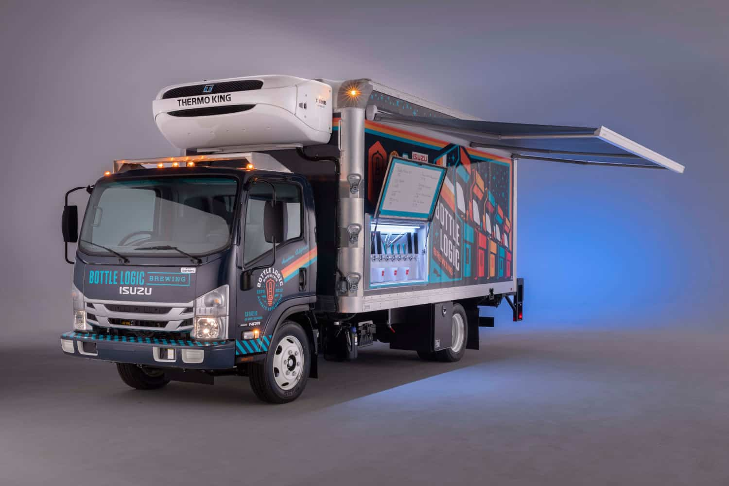 Photo of Today's Pickup: Isuzu introduces craft beer truck complete with taps