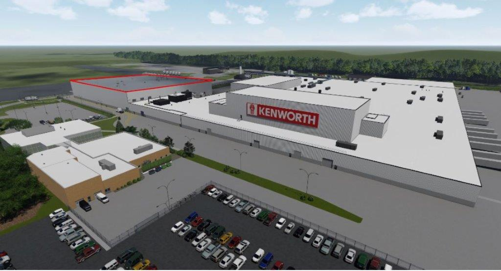 Photo of Kenworth expanding Chillicothe plant by nearly 25 percent with $140M paint facility addition