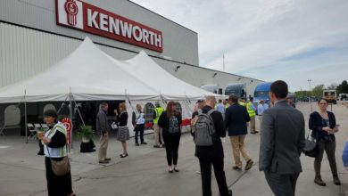 Photo of Kenworth and Chillicothe proving that American manufacturing is alive and well