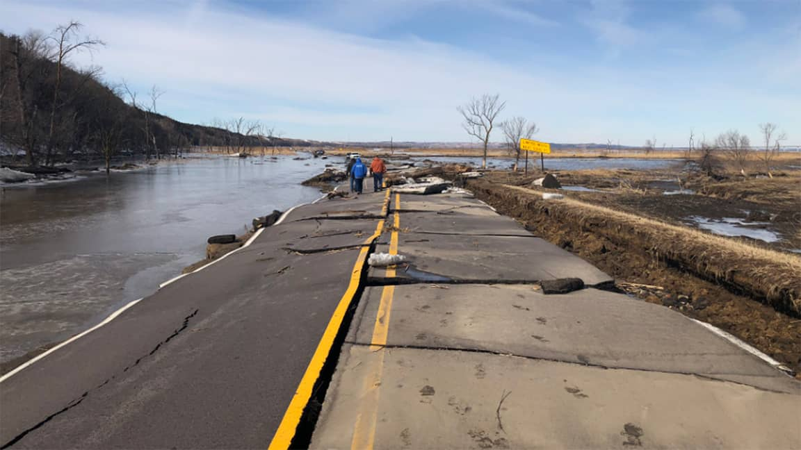 Photo of Flood-damaged roads in Midwest making fairly speedy recoveries