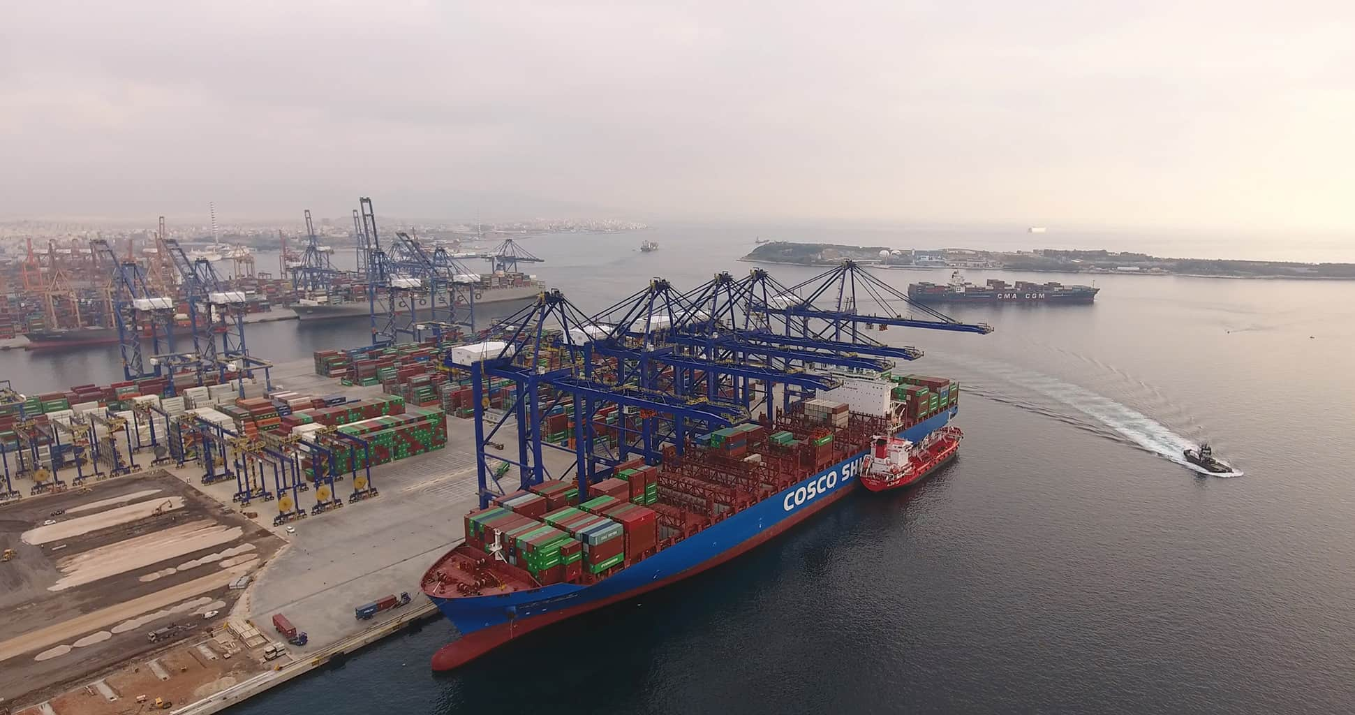 Port Report: Cosco Ports reports good volumes out of China
