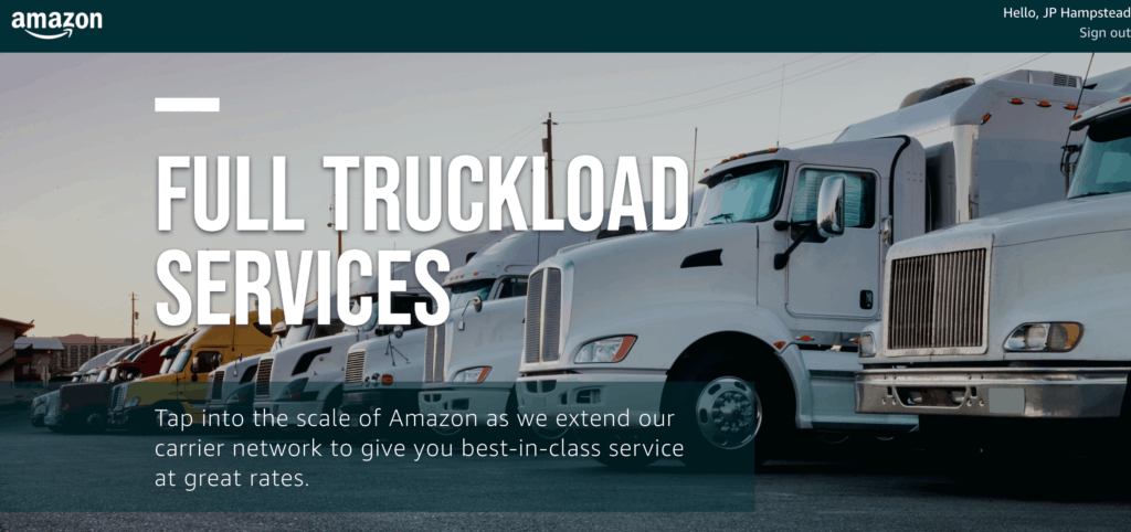 Breaking: Amazon's digital freight brokerage platform goes
