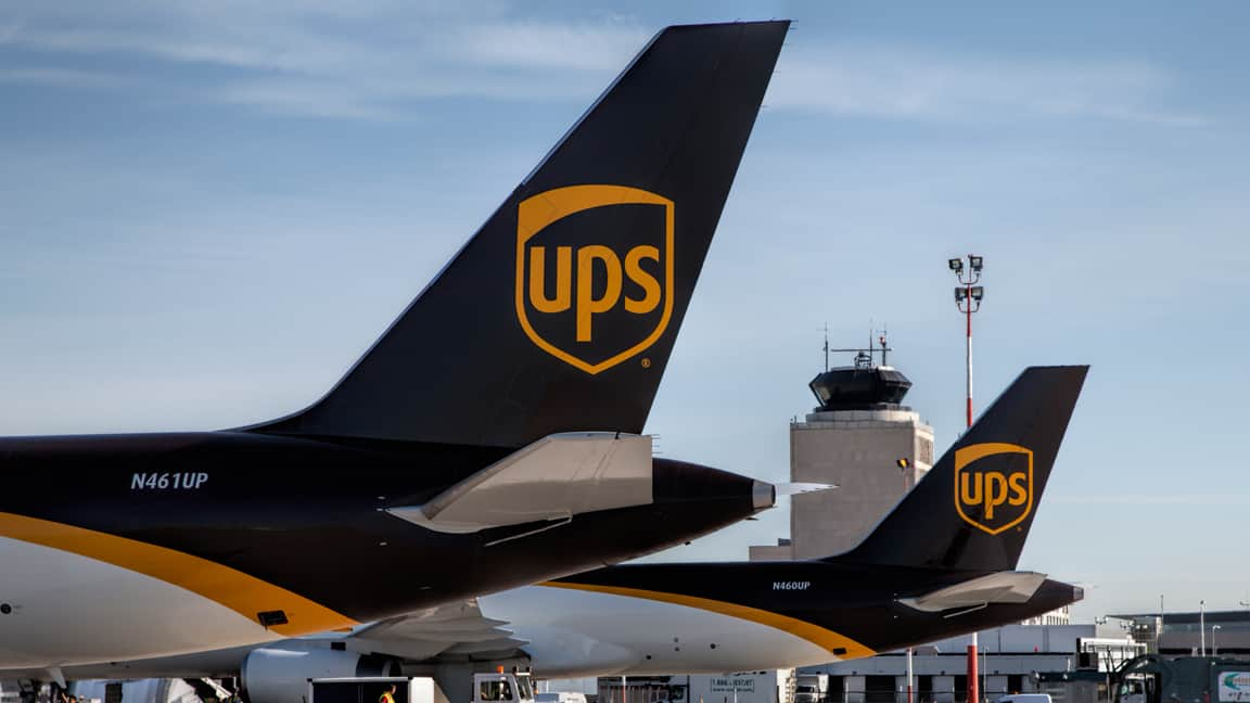 Photo of U.S. next-day air star of the show as UPS posts solid second quarter results