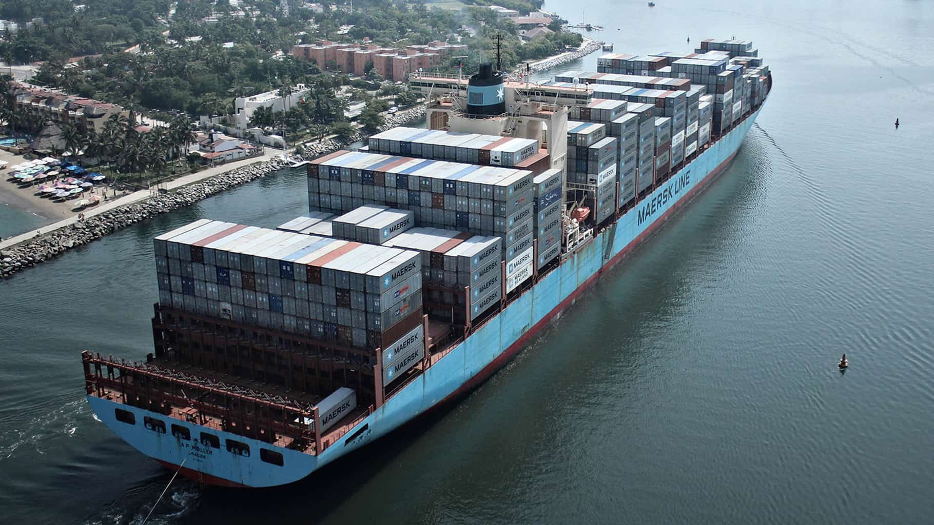 Photo of Port Report: Maersk aims for lead in  transportation and logistics through 'focused' deals