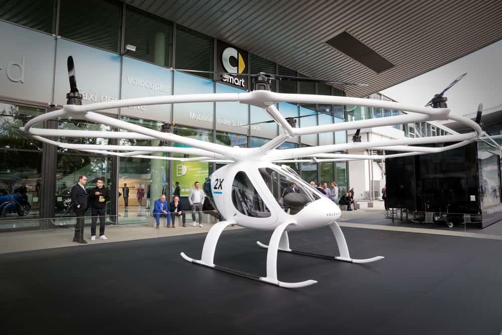 Photo of Singapore collaborates with Volocopter to add air taxis to its skyline