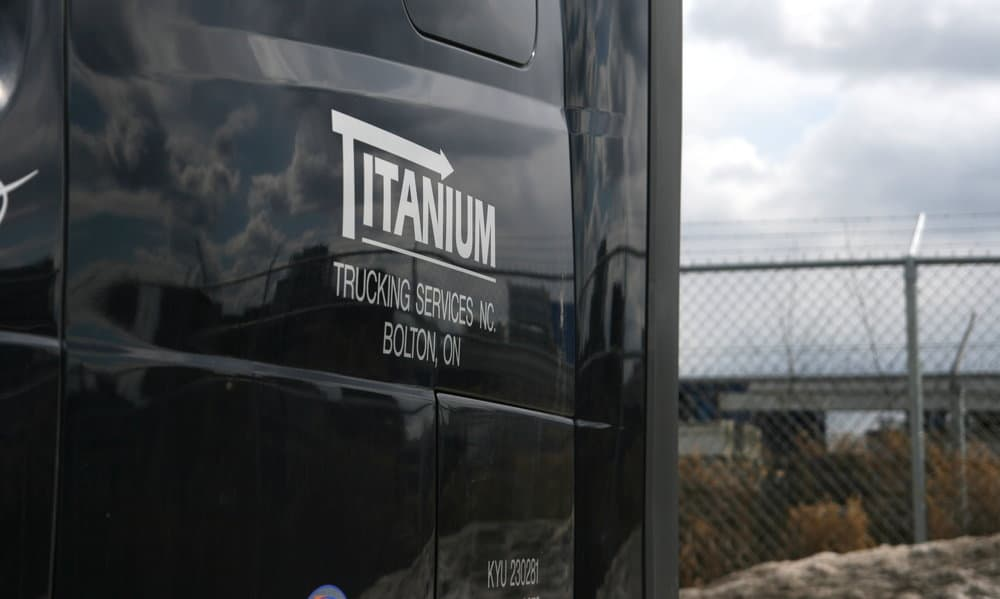 Gains in Titanium's trucking business couldn't make up for weaker logistics performance. (Photo: Nate Tabak)