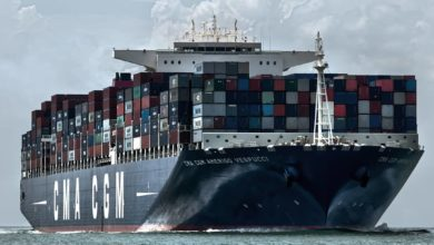 Photo of CMA CGM makes clear it is part of container shipping tech group