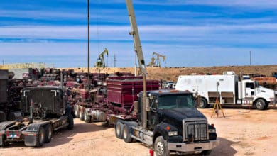Photo of In the middle of the hot Permian oil and gas play, a trucking company is closing some operations