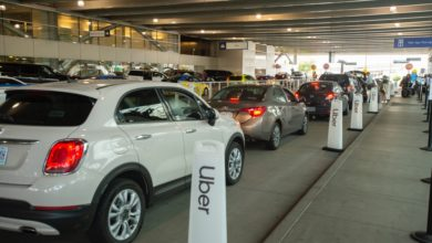Photo of Lyft and Uber borrow from taxi model to reduce congestion at Portland airport