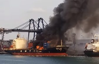 Photo of Boxship explosion and fire disaster puts 133 people in hospital