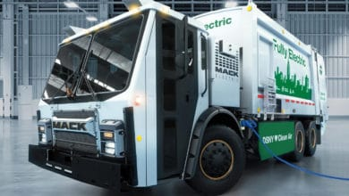 Photo of New York City to test Mack electric refuse truck