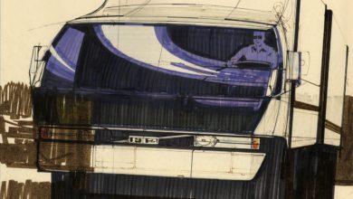 Photo of Today's Pickup: Blade Runner futurist designer Syd Mead conceptualized Volvo trucks