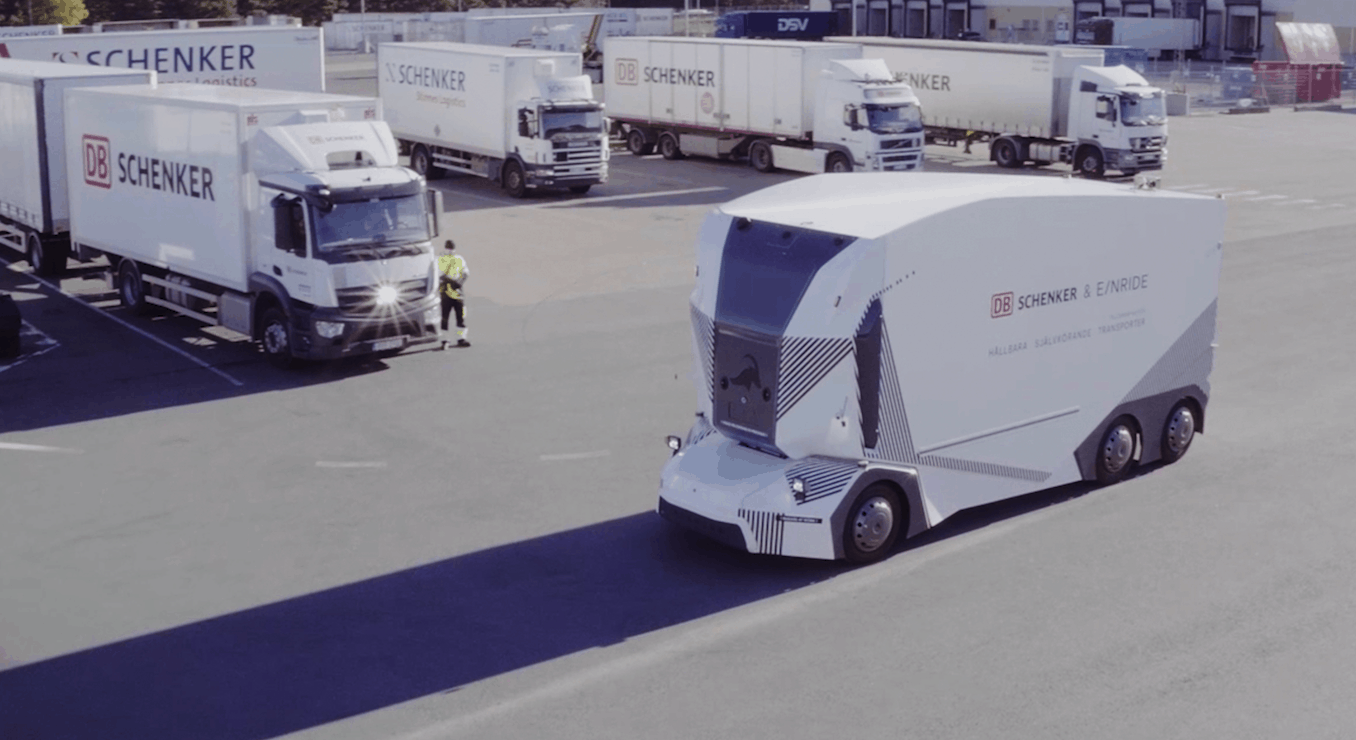 Self-driving startup Einride deploys cab-less electric truck in Sweden (Photo: Shutterstock)