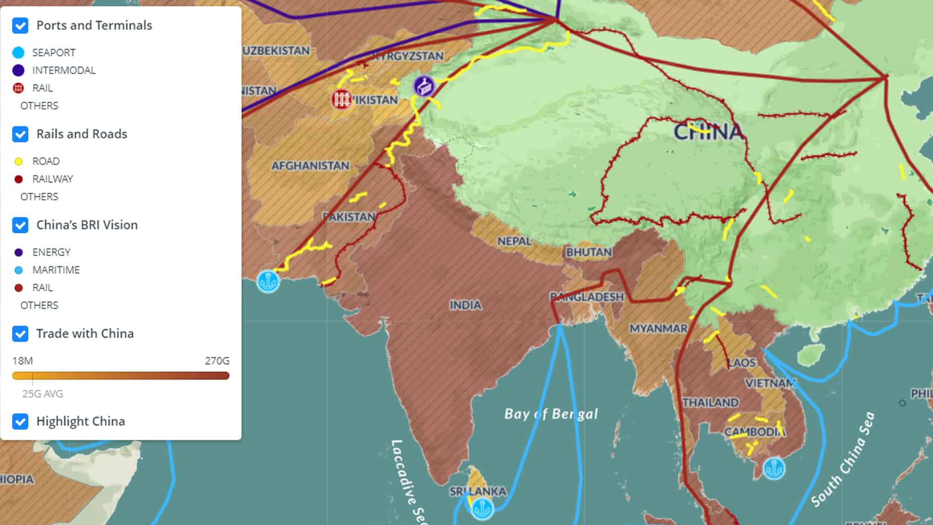 The sustainability perspective on the Belt and Road Initiative (Photo: China Power)