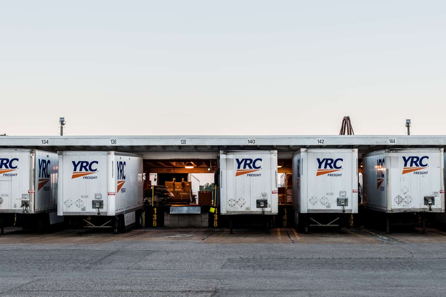 YRC Worldwide posts first-quarter loss on lower revenue