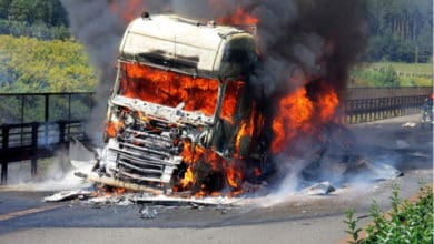 Photo of Down Under Trucking: brave trucker saves driver from fiery death; pay up… and on time!