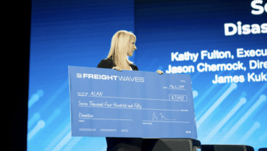 Photo of FreightWaves donates $7,400 to American Logistics Aid Network in first phase of $50,000 fund-raising plan