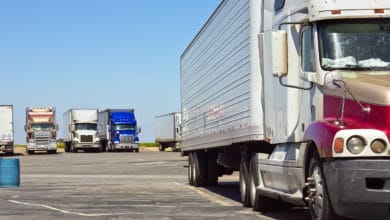 Photo of New TruckPark app helps truck drivers reserve parking spaces