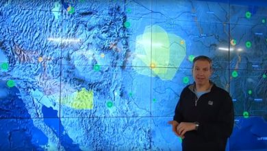 Photo of Sizzling heat out west, severe storms in the Plains (forecast video)