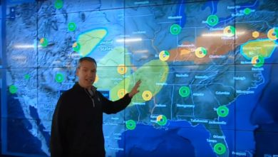 Photo of Severe storms, flooding threats (forecast video)