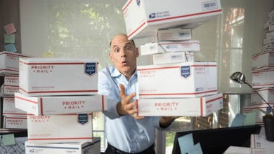 Photo of Amazon bars use of USPS delivery service for some seller-fulfilled goods