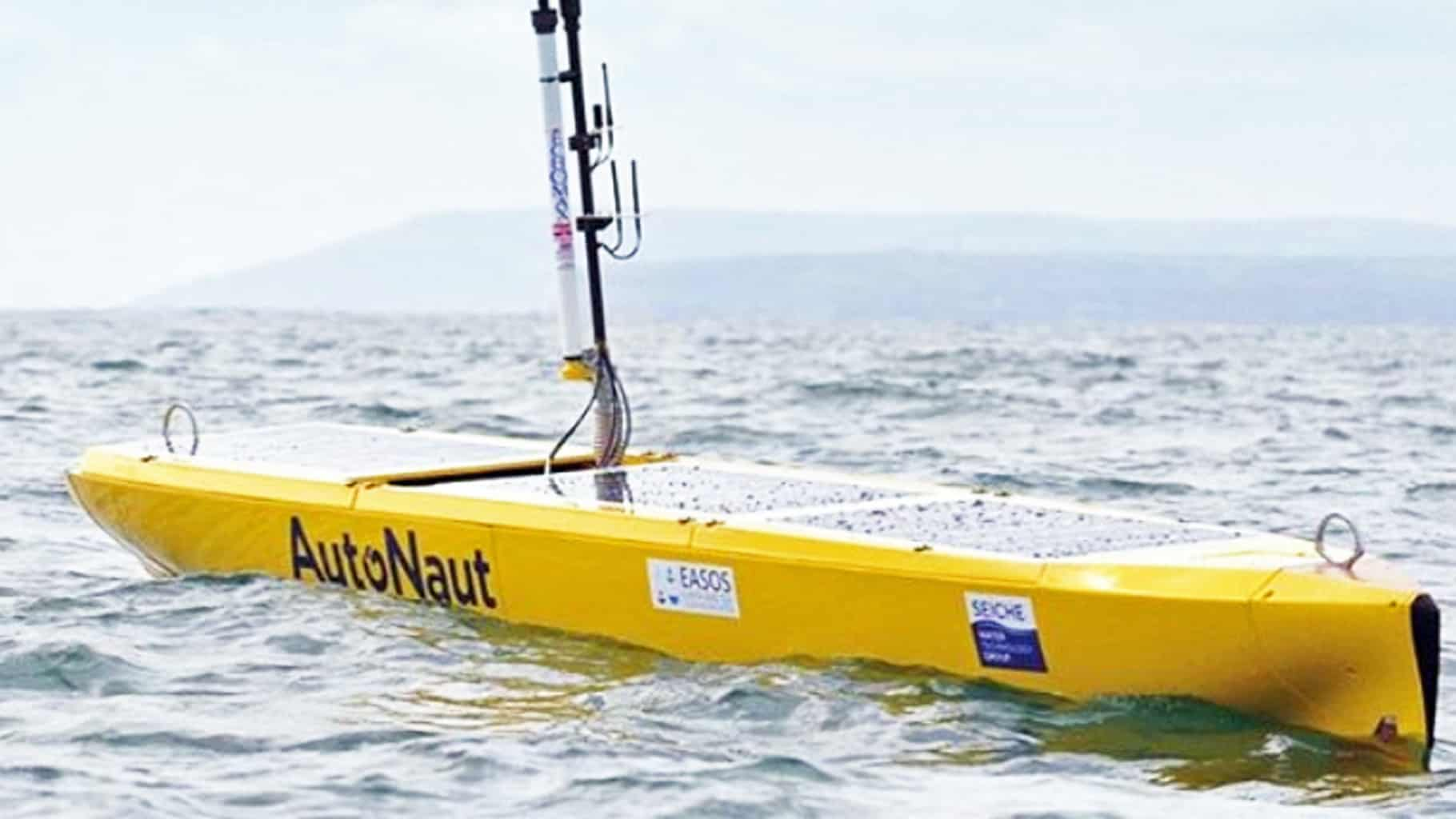 Low-power, long-endurance autonomy might find takers in the maritime industry (Photo: Autonaut)