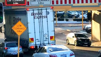 Photo of Down Under Trucking: Oops! Bayswater Bridge claims another victim