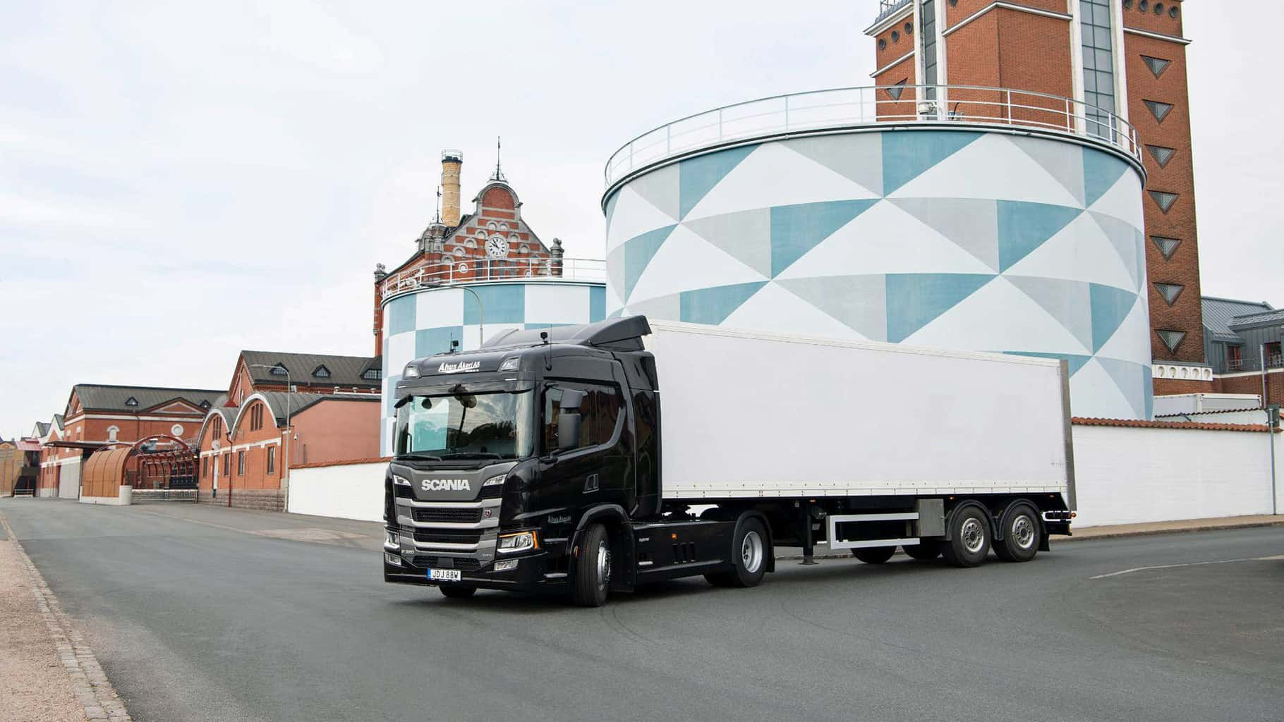 RIO democratizes digitalization by supporting small logistics companies (Photo: Facebook/Scania Group)